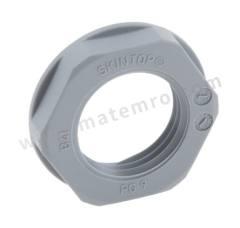 锁紧螺母 53019010 材料:玻璃纤维 PA 螺纹尺寸:PG9 颜色:灰色 IP防护等级:IP68 最低工作温度:-20°C 最高工作温度:+100°C  包