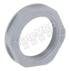 锁紧螺母 53019020 材料:玻璃纤维 PA 螺纹尺寸:PG11 颜色:灰色 IP防护等级:IP68 最低工作温度:-20°C 最高工作温度:+100°C  包