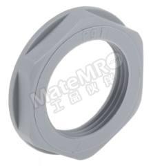 锁紧螺母 53019040 材料:玻璃纤维 PA 螺纹尺寸:PG16 颜色:灰色 IP防护等级:IP68 最低工作温度:-20°C 最高工作温度:+100°C  包