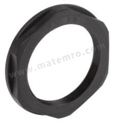 锁紧螺母 53019260 材料:玻璃纤维 PA 螺纹尺寸:PG29 颜色:黑色 IP防护等级:IP68 最低工作温度:-20°C 最高工作温度:+100°C  包