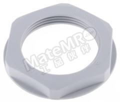 锁紧螺母 53119040 材料:玻璃纤维 PA 螺纹尺寸:M32 颜色:灰色 IP防护等级:IP68 最低工作温度:-20°C 最高工作温度:+100°C  包