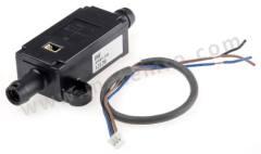 质量流量控制器 D6F-01A1-110 最大流量:0 → 1 L/min 电气连接:电缆 控制输出:模拟 安装样式:紧凑型 电源电压:10.8 → 26.4 V 直流 最低工作温度:-10°C 最高工作温度:+60°C  个