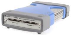 USB 数据采集 U2355A 输入通道数目:64 采样率:250ksps 分辨率:16 位 连接:USB 2.0 板载内存:8M points 电源:市电 输入类型:模拟,数字式 重量:565g 高度:44mm 型号(P):U2355A 最高工作温度:+55°C 长度:182.4mm 宽度:120mm 最低工作温度:0°C  个