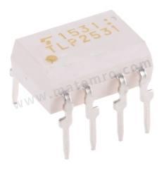 光耦合器 TLP2531(F) 安装类型:通孔安装 输出设备:晶体管 最大正向电压:1.7V 通道数目:2 针数目:8 封装类型:DIP 输入电流类型:直流 典型上升时间:0.3µs 最大输入电流:25 mA 隔离电压:2500 V ac 逻辑输出:是 最大电流传输比:30% 最小电流传输率:19 % 典型下降时间:0.3µs  管