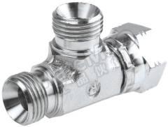 液压三通接头 8R6MK4S 连接器 A:G 1/2 母 连接器 B:G 1/2 母 分支接头:G 1/2 公 材料:钢 加工:镀锌 最大操作压力:199 bar 连接器 - 性别:母 连接器 - 螺纹标准:G 连接器 B - 性别:母 连接器 B - 螺纹标准:G 分支接头 - 性别:公 分支接头 - 螺纹标准:G  个