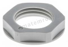 锁紧螺母 53119013 材料:玻璃纤维强化塑料( GRP ) 螺纹尺寸:16 x 1.5mm 颜色:灰色 最低工作温度:-40°C 最高工作温度:+100°C 系列:SKINTOP®  包