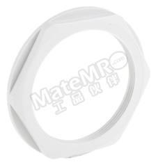 锁紧螺母 53019091 材料:聚酰胺 螺纹尺寸:PG48 颜色:灰色 最低工作温度:-20°C 最高工作温度:+100°C  包
