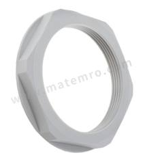 锁紧螺母 53119063 材料:聚酰胺 螺纹尺寸:M50 颜色:灰色 最低工作温度:-20°C 最高工作温度:+100°C  包