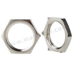 锁紧螺母 52103220 材料:镀镍黄铜 螺纹尺寸:PG11  包