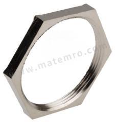 锁紧螺母 52103270 材料:镀镍黄铜 螺纹尺寸:PG36  包