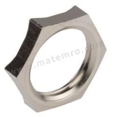 锁紧螺母 52103310 材料:镀镍黄铜 螺纹尺寸:M16  包