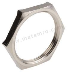 锁紧螺母 52103350 材料:镀镍黄铜 螺纹尺寸:M40  包