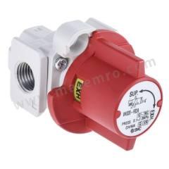 VHS20 系列 红色 锁定截流阀 铝压铸件 气动手动控制阀 VHS20-F02A 控制机制:锁定截流阀 连接口螺纹:G 1/4 螺纹尺寸:1/4in 螺纹标准:G 制造商系列:VHS20 控制按钮/开关颜色:红色 最大操作压力:1 MPa 主体材料:铝压铸件 最低工作温度:-5°C 最高工作温度:+60°C 端口数目:3 位置数目:2  个