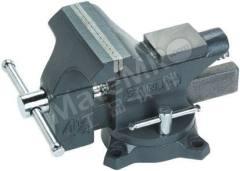 虎钳 1-83-065 台钳类型:台钳 开口度:115mm 钳口深度:65mm 安装:螺栓  个