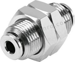 气动隔板管-管适配器 NPQH-H-Q8-E-P10 类型:直向 管连接 A:推入式 8 mm 管连接 B:推入式 8 mm 主体材料:黄铜 加工:镀镍 食品级:是 耐化学腐蚀:是 最大操作压力:20 bar 管连接 B - 管尺寸:8mm 最高工作温度:+150°C 最低工作温度:0°C 管连接 A- 类型:推入式 管连接 - 管尺寸:8mm 管连接 B - 类型:推入式 连接类型:管对管  袋
