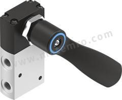 VHEF 系列 黑色 杠杆 铝合金 气动手动控制阀 VHEF-HST-B32-G18 控制机制:杠杆 功能:3/2 连接口螺纹:G 1/8 螺纹尺寸:1/8in 螺纹标准:BSPP 制造商系列:VHEF 控制按钮/开关颜色:黑色 最大操作压力:10 bar 主体材料:铝合金 最大流量:750L/min 最低工作温度:-10°C 最高工作温度:+60°C 位置数目:2 端口数目:3  个