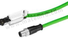 数据采集电缆 6XV1871-5TH50 附件类型:连接缆线 适用于:用于连接工业以太网站  个