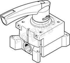 vher 系列 棒杆 气动手动控制阀 VHER-P-H-B43E-G14 控制机制:棒杆 功能:4/3 Exhausted 连接口螺纹:G 1/4 螺纹尺寸:1/4 螺纹标准:G 制造商系列:vher  个