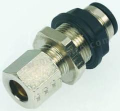 气动隔板管-管适配器 3146系列 3146 10 00 制造商系列:3146 类型:直向 管连接 A:推入式 10 mm 管连接 B:推入式 10 mm 加工:镀镍 最大操作压力:20 bar 管连接 B - 管尺寸:10mm 最高工作温度:+80°C 最低工作温度:-20°C 管连接 A- 类型:推入式 管连接 - 管尺寸:10mm 管连接 B - 类型:推入式 连接类型:管对管  包