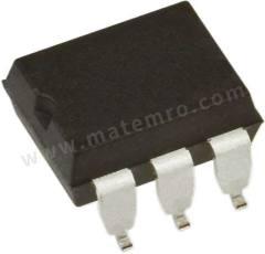 光耦合器 MOC8204SR2M 安装类型:表面安装 输出设备:光电晶体管 最大正向电压:1.5V 通道数目:1 针数目:6 封装类型:DIP 输入电流类型:直流 典型上升时间:5µs 最大输入电流:80 mA 隔离电压:7500 V 交流 最大电流传输比:20% 典型下降时间:5µs  RL