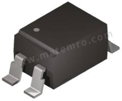 光耦合器 VO617A-8X017T 安装类型:表面安装 输出设备:光电晶体管 最大正向电压:1.65V 通道数目:1 针数目:4 封装类型:SMD 输入电流类型:直流 典型上升时间:4.6µs 最大输入电流:60 mA 隔离电压:5300 Vrms 最大电流传输比:260% 典型下降时间:15µs  袋