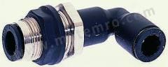 气动隔板管-管适配器 3139系列 3139 10 00 制造商系列:3139 类型:弯头 管连接 A:推入式 10 mm 管连接 B:推入式 10 mm 安装孔直径:18.5mm 最大操作压力:20 bar 管连接 B - 管尺寸:10mm 最高工作温度:+80°C 最低工作温度:-20°C 管连接 A- 类型:推入式 管连接 - 管尺寸:10mm 管连接 B - 类型:推入式 连接类型:管对管  包
