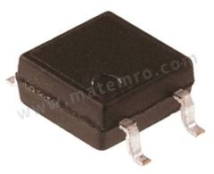 光耦合器 VOM617A-2T 安装类型:表面安装 输出设备:光电晶体管 最大正向电压:1.6V 通道数目:1 针数目:4 封装类型:SOP 输入电流类型:直流 典型上升时间:3µs 最大输入电流:60 mA 隔离电压:3750 Vrms 最大电流传输比:125% 典型下降时间:3µs  RL