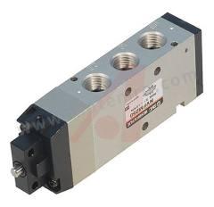 VFM200 系列 基本 ADC 气动手动控制阀 NVFM250-N02-00 控制机制:基本 功能:4/2 连接口螺纹:NPT 1/4 螺纹尺寸:1/4 螺纹标准:NPT 制造商系列:VFM200 最大操作压力:1 MPa 主体材料:ADC 最低工作温度:-5°C 最高工作温度:+60°C 端口数目:4/2  个