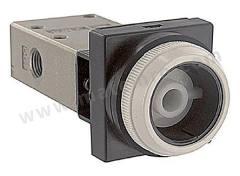 VM400 系列 按钮 ADC 空气开关 NVM430-N01-33 控制机制:按钮 功能:4/2 连接口螺纹:NPT 1/8 螺纹尺寸:1/8 螺纹标准:NPT 制造商系列:VM400 最大操作压力:1 MPa 主体材料:ADC 最低工作温度:-5°C 最高工作温度:+60°C 端口数目:4/2  个