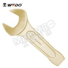 """WEDO 维度 德标DIN133防爆英制敲击呆扳手 AL141-1046 主体材质:铝青铜 规格:4""""  把"""
