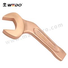 WEDO 维度 防爆弯柄敲击呆扳手 BE141B-55 规格:55mm 主体材质:铍青铜  把